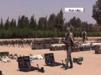 SAA Temukan Banyak Senjata Di Daraa, Sebagian Buatan Israel