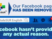 Facebook Tutup Akun Media Sayap-Kiri Telesur