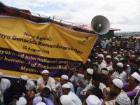 Pengungsi Rohingya Berdemo di Hari Peringatan Genosida