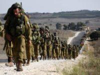 Israel Gelar Latihan Perang Di Golan