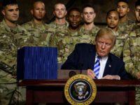 Trump Sahkan Anggaran $717 Miliar untuk Militer AS