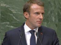 Macron Salahkan Trump atas Kenaikan Harga Minyak