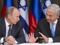 Presiden Rusia, Vladimir Putin dan PM Israel, Benjamin Netanyahu.