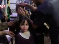 Rekaman serangan kimia palsu di Ghouta, April 2018. © White Helmets / Reuters