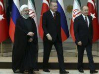 Pertemuan Segi Tiga Iran, Turki, Dan Rusia Tanggapi Isu Penarikan Pasukan AS Dari Suriah