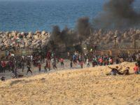 29 Orang Palestina di Pantai Gaza Alami Luka-luka