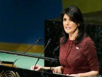 Duta AS untuk PBB Nikki Haley Mundur dari Jabatan