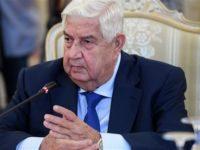 Menlu Suriah: Teheran Berkoordinasi Dengan Damaskus Dalam Serangan Rudalnya