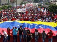 Ribuan Warga Venezuela Gelar Aksi Dukung Pemerintah