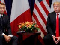 Baru Tiba di Prancis, Trump Langsung Serang Macron