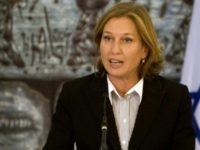 Livni: Kita Harus Berdamai dengan Palestina agar Mayoritas Israel Tetap Yahudi