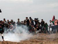 Aksi Protes Jumat ke-40 Di Gaza, Satu Warga Palestina Gugur
