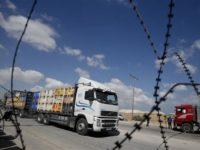 Penduduk Israel Tutup Jalur Perlintasan Barang ke Gaza