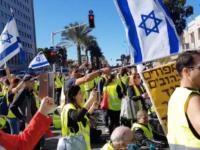 Gerakan 'Rompi Kuning' Merambah ke Israel, 10 Orang Ditangkap