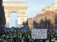 Demo 'Rompi Kuning' Kembali Membara di Paris
