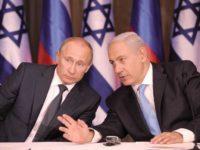 Presiden Rusia, Vladimir Putin (kiri) dan PM Israel, Benyamin Netanyahu (kanan).