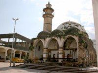 Potret salah satu masjid kuna di Tiberias. Masjid Agung Al-Omri.