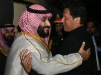 Pakistan Sambut Bin Salman dengan Penuh Penghormatan