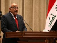 Perdana Menteri Irak, Adel Abdul Al-Mahdi