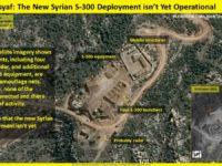 Citra Satelit Tunjukkan Sistem S-300 Sudah Dioperasikan Di Suriah
