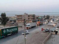 AS Kirim Peralatan Tempur Dalam Jumlah Besar Ke Suriah Utara