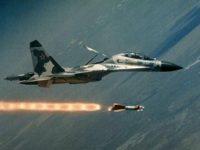 Jet-jet Rusia Bombardir Gudang Senjata Jabhat Al-Nusra di Idlib
