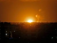 Pesawat Israel Bantai Para Demonstran Palestina di Jalur Gaza