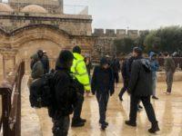 Lusinan Pemukim Yahudi Serbu Masjid Al-Aqsa