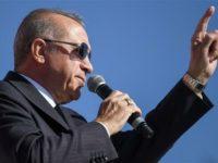 Erdogan Bersumpah Akan Seret Isu Golan ke PBB