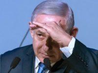 Netanyahu Dilempar Tomat Saat Kampanye