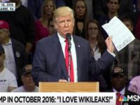 Gedung Putih Bantah Trump Dukung WikiLeaks