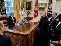 Bertemu CEO Twitter,Trump Keluhkan Jumlah Follower-nya