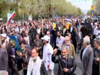 Dukung IRGC, Rakyat Iran Gelar Unjuk Rasa Akbar Anti-AS Dan Israel