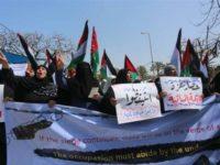 Demonstran Palestina Serukan PBB Akhiri Blokade Gaza
