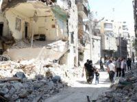 Serangan Roket Oposisi Menerjang Aleppo, Belasan Orang Tewas