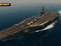 Nirawak Iran Merekam Kapal Induk USS Dwight D Eisenhower, AS Membantah