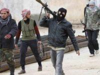Foto ilustrasi kelompok teroris di Suriah