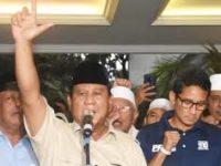 Lembaga Survei Tak Terdaftar Menangkan Prabowo-Sandi