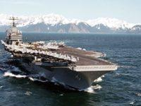 Biaya Mahal Pengiriman Kapal Induk AS Ditanggung Saudi dan UEA