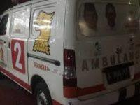 Supir Ambulans Massa Mengaku Diperintah ke Jakarta