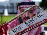 """Demonstran Anti-Saudi Di Libya Sebut Bin Salman """"Penggergaji"""""""