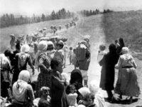 Potret rakyat Palestina yang terusir dari kampung halaman mereka pada 1948 atau dalam bahasa lain dikenal dengan hari Nakba. Sumber: Memo
