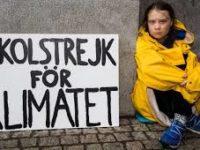 Terkait Krisis Iklim, Sejumlah Siswa di Dunia Lakukan Aksi Mogok