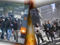 Aksi Kerusuhan yang Lebih Mirip Krisis Suriah