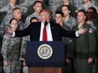 Trump Sanggah Laporan AS Kirim 120 Ribu Tentara ke Iran