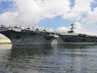Militer Iran Nyatakan Kapal Induk AS Terhenti di Laut Arab