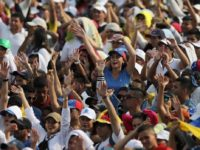 "Konser ""Venezuela Aid Live"" di Cucuta, Colombia, 22 Februari 2019. ©  REUTERS/Luisa Gonzalez"