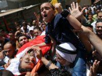 Warga Gaza Antar Jenazah Paramedis Korban Tembakan Tentara Israel