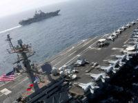 Militer AS Lakukan Simulasi Serangan di Perbatasan Maritim Iran