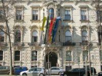 Kantor pusat lembaga KAICIID di Wina, Austria.